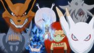 Bestas com Cauda em Naruto