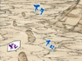 Imagem do Gato Escondido na Areia