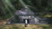 Jiraiya no esconderijo de Orochimaru