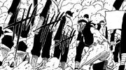 Naruto sendo protegido