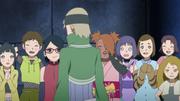 As garotas maravilhadas com Kagura