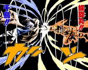 Choque final entre Naruto y Sasuke