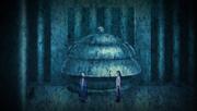 Hōichi y Fugi discutiendo su plan