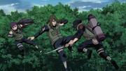 Hayate vs Equipo Médico Ninja
