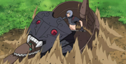 Jutsu Secreto Negro Salamandra Anime