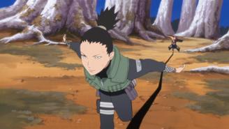 Shikamaru seperating team