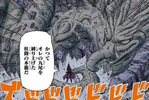 Elemento Madera Jutsu Dragón de Madera Manga