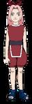 Sakura - Infância (Render)