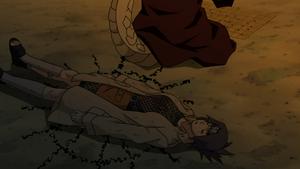 Sello Drenador de Chakra Anime