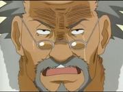 Tazuna mostrando un lado sensible al hablar de la tristeza de Inari