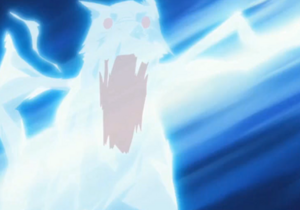 Elemento Rayo Bestia de Rayo Rastreo de Colmillo Anime