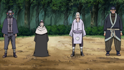 Hanzo, Chiyo, Kimimaro e Chukichi