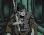 Kisame como ninja de Kirigakure