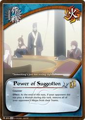 Poder de la Sugestión Carta