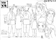 Arte Pierrot - Fugaku Uchiha & Mikoto Uchiha