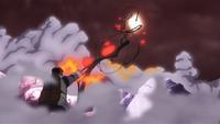 Katasuke ataca Momoshiki (Anime)