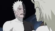 Madara conversa com Obito sobre seus ideais