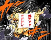 Naruto destruye la máscara de Tobi Manga