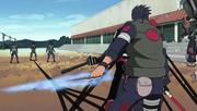 Shikamaru (Sombra) vs Hidan