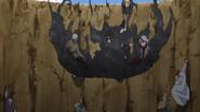 Shinki manipulando a Areia de Ferro