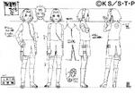 Diseño de Sakura Estatura en la Parte II por Pierrot