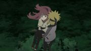 Minato salvando a Kushina