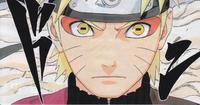 Modo Sábio de Naruto (Mangá Colorido)