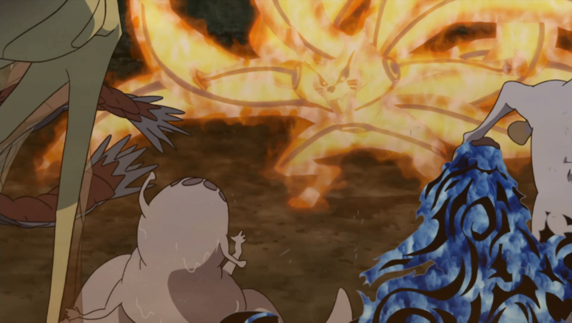 What episode did naruto and kurama become friends before dating