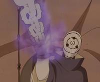 Correntes Estatua Demoniaca Obito Anime