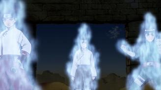 Fuyō sensing chakra