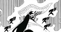 Jigen con el cuerno del Ōtsutsuki Desconocido