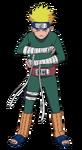 Naruto - Macacão Verde (Render)
