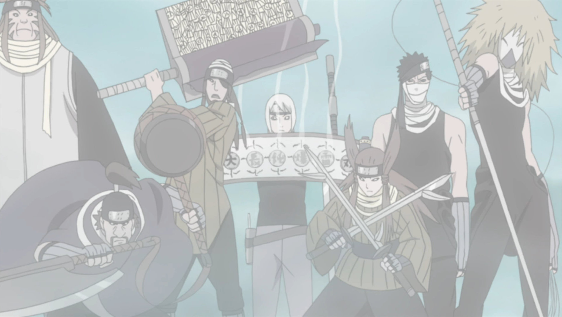 Seven Ninja Swordsmen of the Mist | Narutopedia | FANDOM powered by