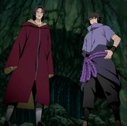 Itachi e Sasuke se preparam para lutar