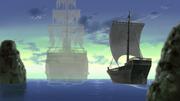 El Barco Fantasma yéndose al otro mundo en paz