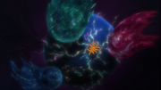 Energia Natural sentida por Naruto e Kurama