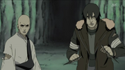 Asuma e Chiriku como guardiões