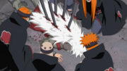 Jiraiya killed by Pain