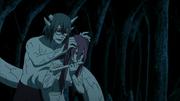 Kabuto usando os poderes de Tayuya