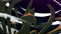 Kurama invocada por Obito no Ultimate Jutsu