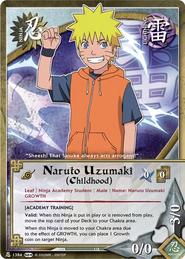 Naruto Uzumaki (Infancia) SL