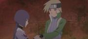 Sumire venda la mano de Kagura