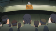Anúncio de Kakashi