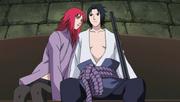 Karin tenta seduzir Sasuke