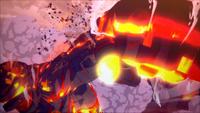 Liberação de Lava - Punho Blindado Escaldante (Momoshiki - Game)