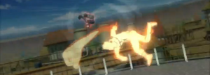 Golpe Fuerte de Naruto Uzumaki