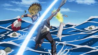 Kinkaku's Arm Severed