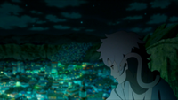 Mitsuki speaks through snake