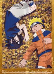 Naruto Calendario 2006 Noviembre-Diciembre Versión B