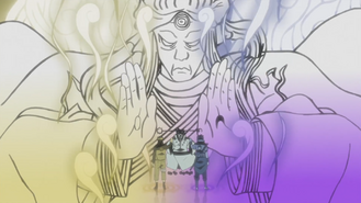 Naruto and Sasuke obtain Rikudo Power